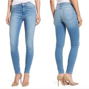 "Hudson Jeans High Waist Barbara Super Skinny 10"""